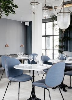 The Standard restaurant in Copenhagen - via Coco Lapine Design