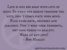 Bob Marley Quotes About Life Free Tarot Readings