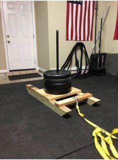 Crossfit Garage Gym, Home Gym Garage, Crossfit At Home, Man Cave Garage, Home Made Gym, Diy Home Gym, Gym Room At Home, Best Home Gym, Homemade Gym Equipment