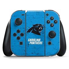 NFL Carolina Panthers Nintendo Switch Joy Con Controller Skin - Carolina Panthers Distressed Alternate Vinyl Decal Skin For Your Switch Joy Con Controller  https://allstarsportsfan.com/product/nfl-carolina-panthers-nintendo-switch-joy-con-controller-skin-carolina-panthers-distressed-alternate-vinyl-decal-skin-for-your-switch-joy-con-controller/  Ultra-Thin, Lightweight Nintendo Switch Joy Con Controller Vinyl Decal Protection Offically Licensed NFL Design Industry Leading Viv