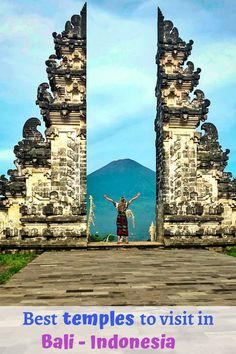 Best temples to visit in Bali ~ Yvettheworld Travel Advice, Travel Guides, Travel Tips, Bali Travel, Wanderlust Travel, Group Travel, Top Destinations, Trip Planning, Adventure Travel