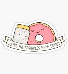 Also buy this artwork on stickers, apparel, phone cases, and more. Stickers Cool, Food Stickers, Tumblr Stickers, Kawaii Stickers, Printable Stickers, Laptop Stickers, Planner Stickers, Tumblr Png, Dibujos Cute