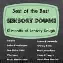 12 mos of Sensory Dough