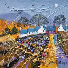 New to The Bute Gallery. Scottish artist Deborah Phillips. A truly lovely selection of her imaginative work. Come see what you think. On sale here at the gallery, also online at thebutegallery.com under shop section on the website. #scotland #artgallery #art #painting #paintings #landscapepainting