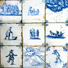 Dutch Delft tiles for my dream kitchen
