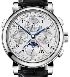 fe9fe5d4e45 A. Lange   Sohne 1815 Rattrapante Perpetual Calendar Watch Amazing Watches