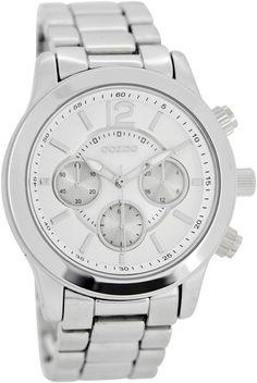 OOZOO Timepieces C6575 - Polshorloge - Zilver/Parelmoer - 40 mm 59,90 euro