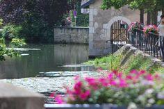Serein river, Chablis, Burgundy