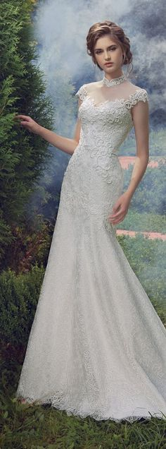 Milva 2016 Wedding Dresses Fairy Garden Collection / http://www.deerpearlflowers.com/milva-wedding-dresses/13/