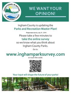 We'd love to hear from you! County Park, Parks And Recreation, What You Think, Press Release, No Response, Thinking Of You, How To Plan, Thinking About You