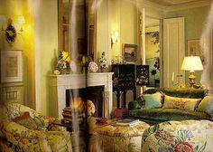 Charlotte Moss's living room - 1991