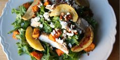 With its crunchy pecans, apples, and sweet potato, this protein-rich salad features many of your favorite fall flavors. Total Time: 2 hrs. 52 min. Prep Tim