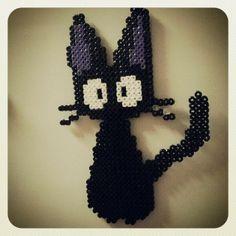 Jiji Cat Kiki Delivery Service hama beads by squirrol