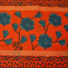 Vintage Style New Indian Saree Pure Cotton Printed Fabric Decor Floral Orange: Amazon.co.uk: Kitchen & Home Vintage Style, Vintage Fashion, Orange Quilt, Indian Sarees, Fabric Decor, Printing On Fabric, Pure Products, Quilts, Amazon