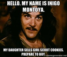 For those of you at the beginning Girl Scout cookie sales   2Peas ...