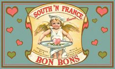 French Chef Vintage Foodie Valentine