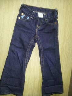True religion girl pants size 4t.