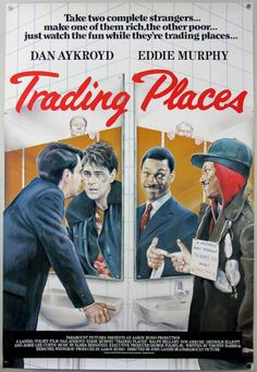 Trading Places (International - 1983) 27x40""