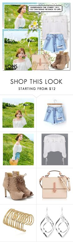 """""""Open Fields & Sky Blue Denim // Yoins"""" by angelstylee ❤ liked on Polyvore featuring Seed Design, chuu, Kendall + Kylie, yoins, yoinscollection and loveyoins"""