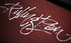 """""""Ruling Pen"""". #lettering #handlettering #calligraphy #ruling_pen http://www.behance.net/vetoshkin_igor"""