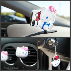 Supercute accessories for your ride ! Hello Kitty Car 96ea1b30ec3e