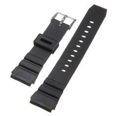 Soft Silicone Rubber Strap Buckle Wrist Watch Band 18mm Black Military New Arrival High Quality Sweatband♦️ B E S T Online Marketplace - SaleVenue ♦️👉🏿 http://www.salevenue.co.uk/products/soft-silicone-rubber-strap-buckle-wrist-watch-band-18mm-black-military-new-arrival-high-quality-sweatband/ US $2.44