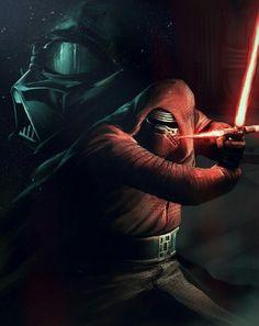 Star Wars Kylo Ren Darth Vader