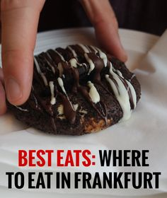 I've spent two years checking out the Frankfurt food scene and now I feel prepared to share where to eat in Frankfurt for the most delicious food and the best