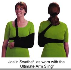 Joslin Swathe(R) Child Arm Immobilizer Strap by Joslin Swathe(R). $17.99. A strap that goes around the body and holds the injured arm down against the body. Used in addition to an arm sling.