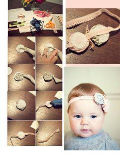 diy headband Easy Baby Shower Gifts - 5 Minute No Sew DIY Headband Tutorial Baby Headband DIY Baby Headband Tutorial, Diy Baby Headbands, Diy Headband, Baby Bows, Rose Headband, Flower Headbands, Headband Pattern, Diy Bow, Diy Hair Bows