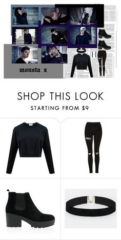 """""""Stuck-monsta x"""" by pilarmoralesl on Polyvore featuring Topshop and ASOS"""