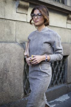 #MaxMara on the streets of #MFW - See more fashion week action on The Hub