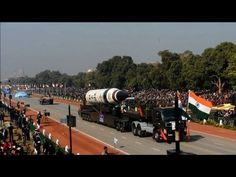 """India wheeled out a new long-range nuclear missile that can hit anywhere in China and warned rival Pakistan not to take its friendship """"for granted"""" as it celebrated its Republic Day with a large-scale parade. Duration: 00:28"""