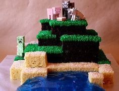 Everything you need to build a brilliant Minecraft party.