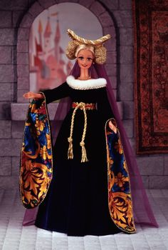 Medieval Lady Barbie Doll