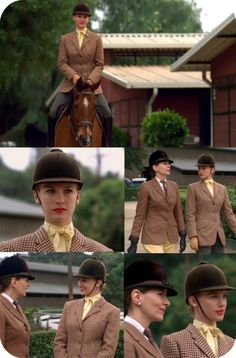 Mad Men's Betty Draper (January Jones) was told to read Sylvia Plath to play these scenes on horseback. Perfect.