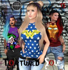 *{TS}* Superheroes Opened Tank Vol1 w/Hud