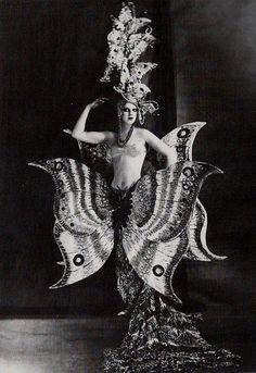 vintage showgirl