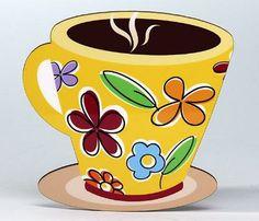 Coffee Mug/Leaf Coaster