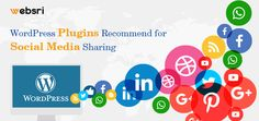 Social media is very important dimension for every online marketing strategy underestimating  social media means you are losing a huge potential audience of your niche. A medium size business  accommodated into a small website on WordPress can be smoothly and quickly integrated with social media platform. Hundreds of customized social media plugins are available for WordPress to select.