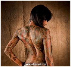 Check out Japanese tattoo on back. We add new tattoo designs on a daily basis. Some of the coolest tattoos you will ever see.