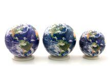 地球儀 フルカラーならではのリアルな表現