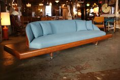 Mid Century Couch Sofa Attributed to Adrian Pearsall Newly Reupholstered | eBay
