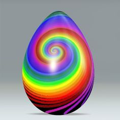 Spiral egg by Marco Braun