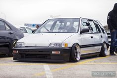 Civic Wagon Didn't Like Them At First But Starting To Fall For Em Think I'm Gonna Get One :D
