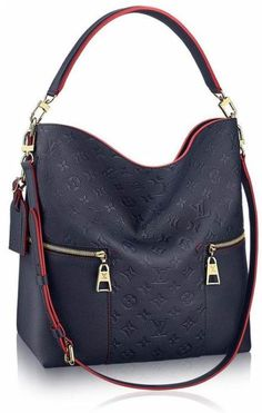 The Melie bag from Louis Vuitton is one of the newest bags that is set to conquer the hearts of many with its fresh and modern take on the hobo design. For LV fans out there, the new Melie is sure … Best Handbags Collections on the Planet Prada Handbags, Fashion Handbags, Purses And Handbags, Fashion Bags, Leather Handbags, Tote Handbags, Hobo Purses, Ladies Handbags, Coach Purses