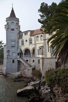 Museu Condes de Castro Guimarães in Cascais, Portugal (by lydeHouse). viaTumblr
