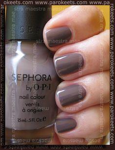 sephora by OPI - Metro Chic  http://www.parokeets.com