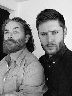 Jensen's twitter: The green room is so serious! Seriously. @Omundson and I just, u know, being serious. AHBL VI Sydney 2015