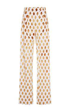 Embrey Diamond Velvet Trouser by SOPHIE THEALLET for Preorder on Moda Operandi